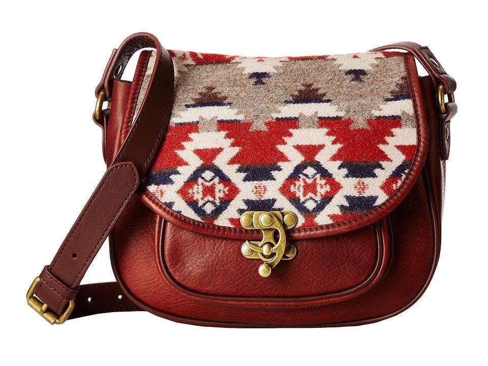 Pendleton - Refined Saddle Bag (Mountain Majesty) Cross Body Handbags