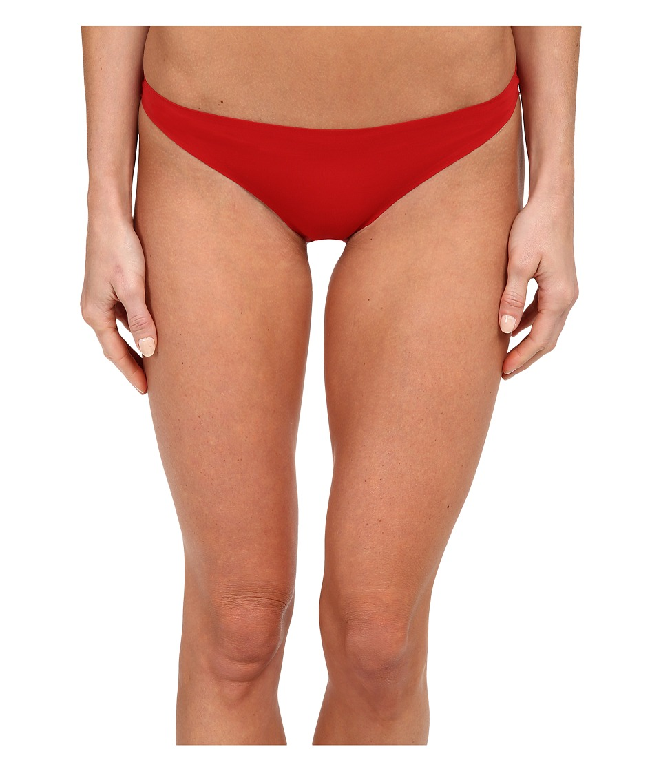 Stella McCartney - Stella Smooth Lace Bikini Brief (Lipstick Red) Women's Underwear