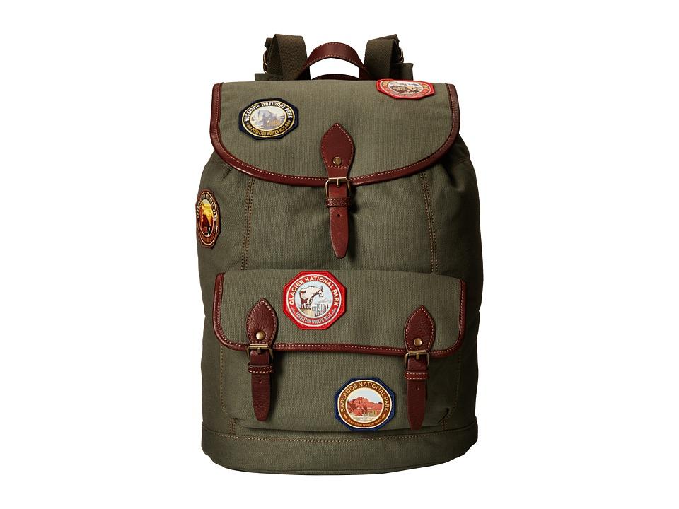 Pendleton - Park Rucksack (Olive) Backpack Bags