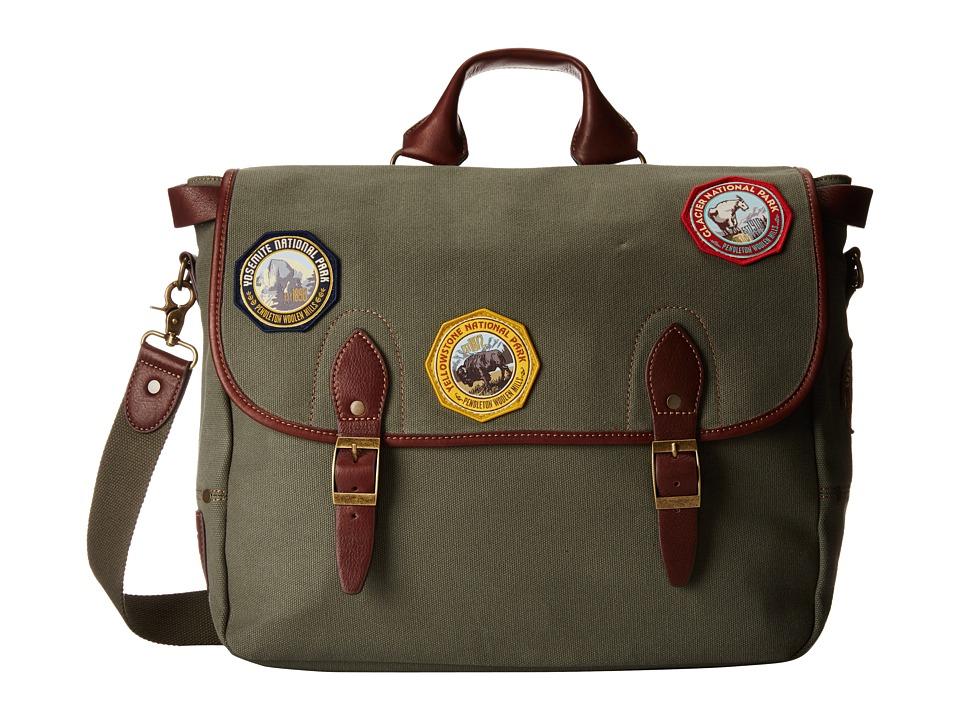 Pendleton - Park Messenger (Olive) Messenger Bags