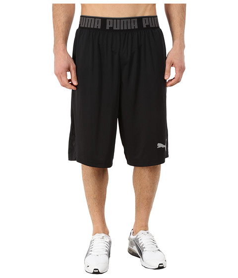 PUMA - Mixed State Shorts II (Black/Black) Men's Shorts