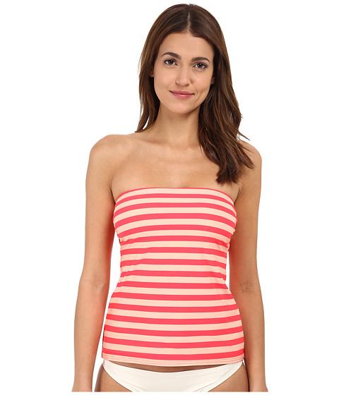 Kate Spade New York - Georgia Beach Stripes Bandeau Tankini (Geranium) Women
