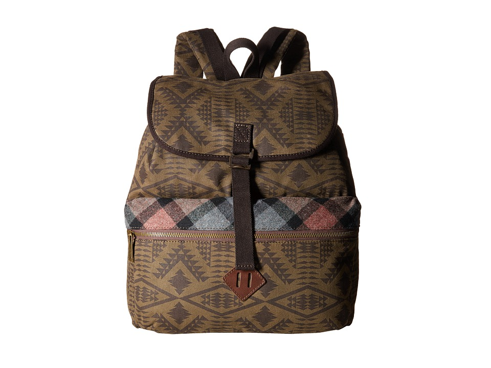 Pendleton - Timberline Twill Day Pack (Diamond River Tonal) Day Pack Bags