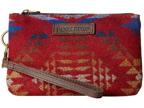 Pendleton - Three Pocket Keeper (Diamond River Red) Wristlet Handbags