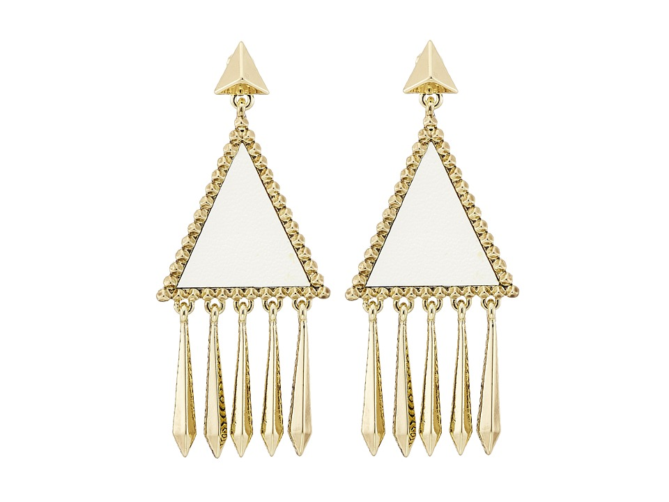 House of Harlow 1960 - Del Sol Chandelier Earrings (White) Earring