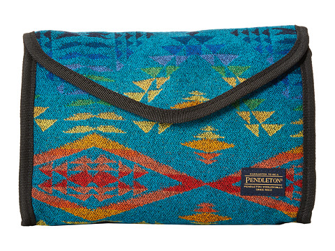 Pendleton - Large Cosmetic Case (Diamond River Turquoise) Cosmetic Case