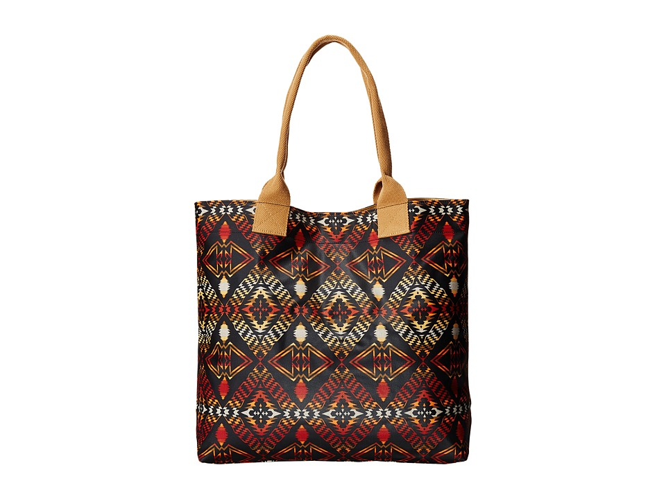 Pendleton - Canopy Canvas Tote (Thunder & Earthquake Black) Tote Handbags