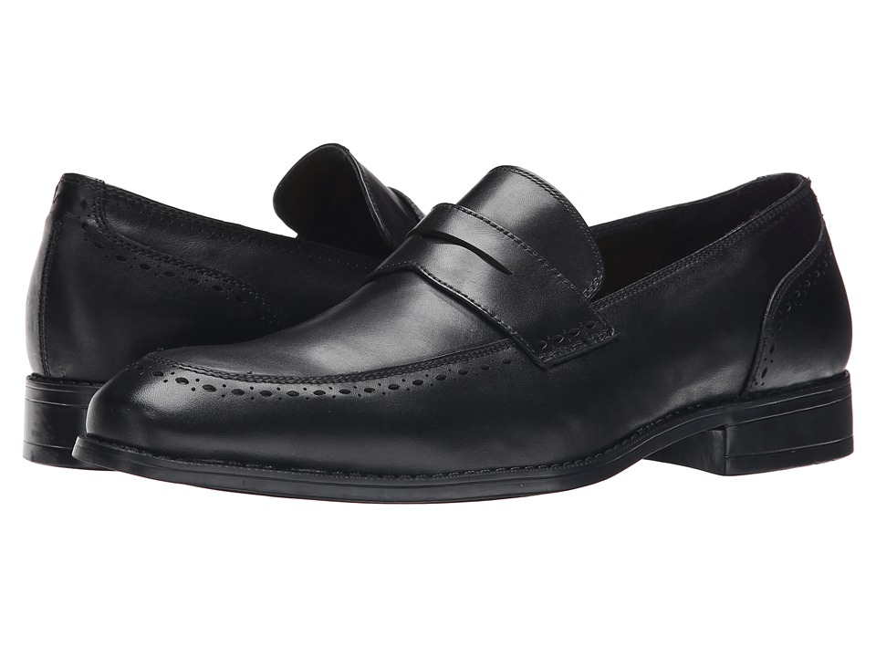 Robert Wayne - Vice (Black) Men's Slip on Shoes