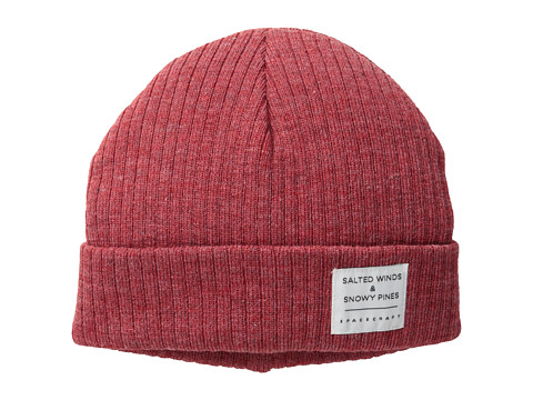 Spacecraft - JW Beanie (Red) Beanies