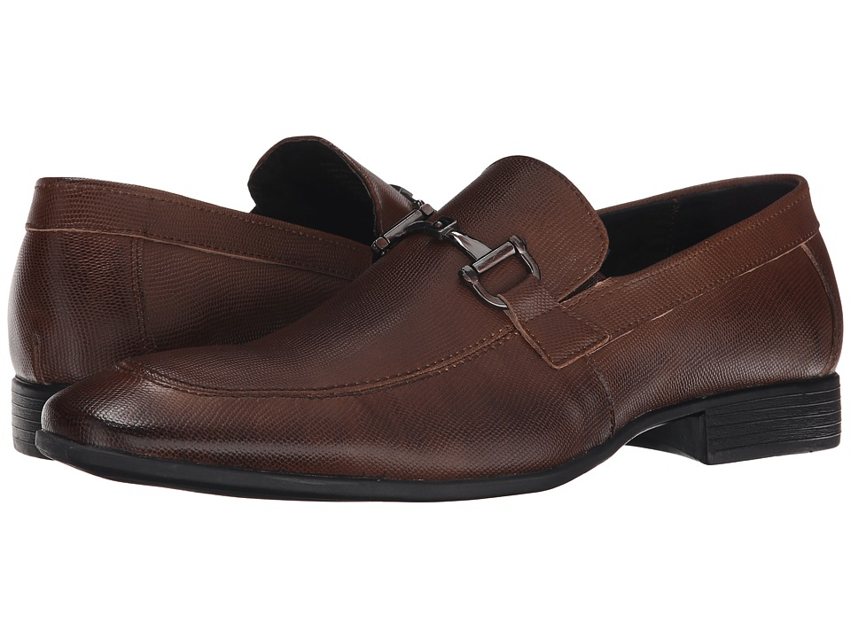 Robert Wayne - Ray (Pebble Tobacco) Men's Slip on Shoes