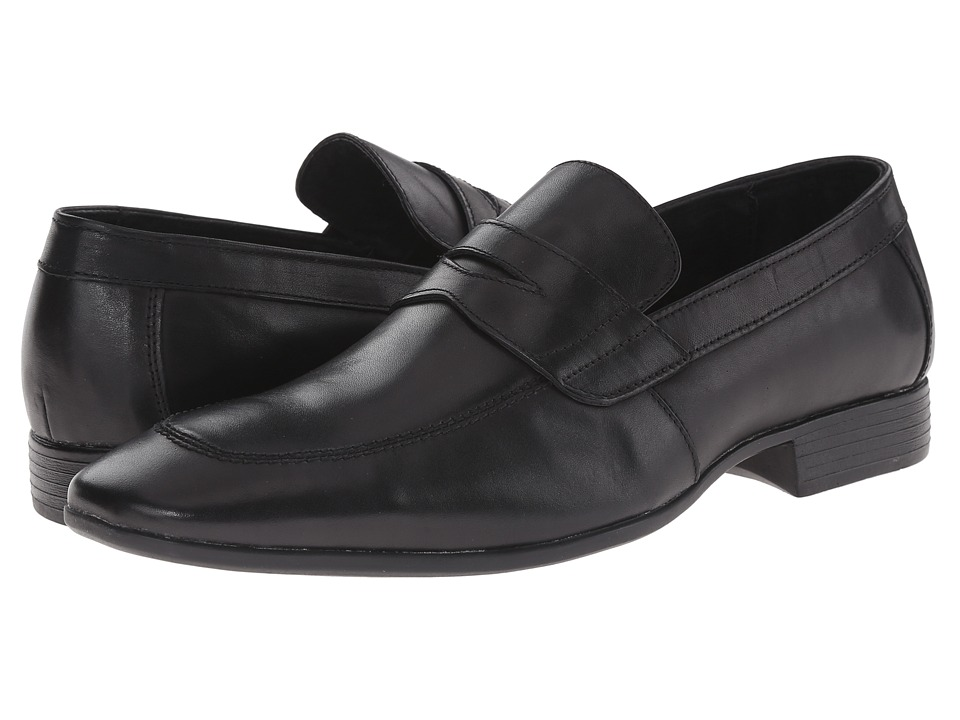 Robert Wayne - Reggie (Black) Men's Slip on Shoes