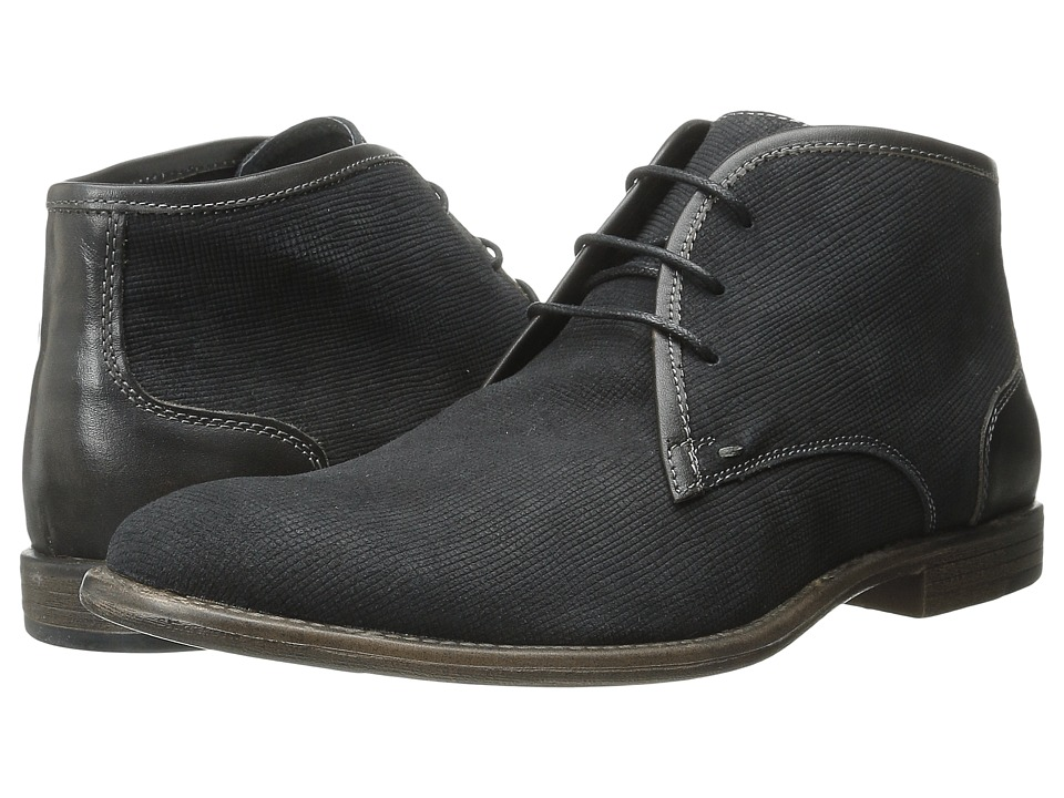 Robert Wayne - Graham (Dark Grey) Men's Lace-up Boots