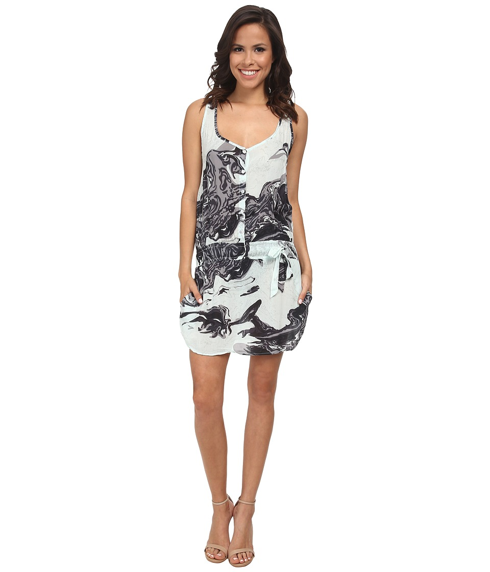 Young Fabulous & Broke - Temple Dress (Mint) Women's Dress
