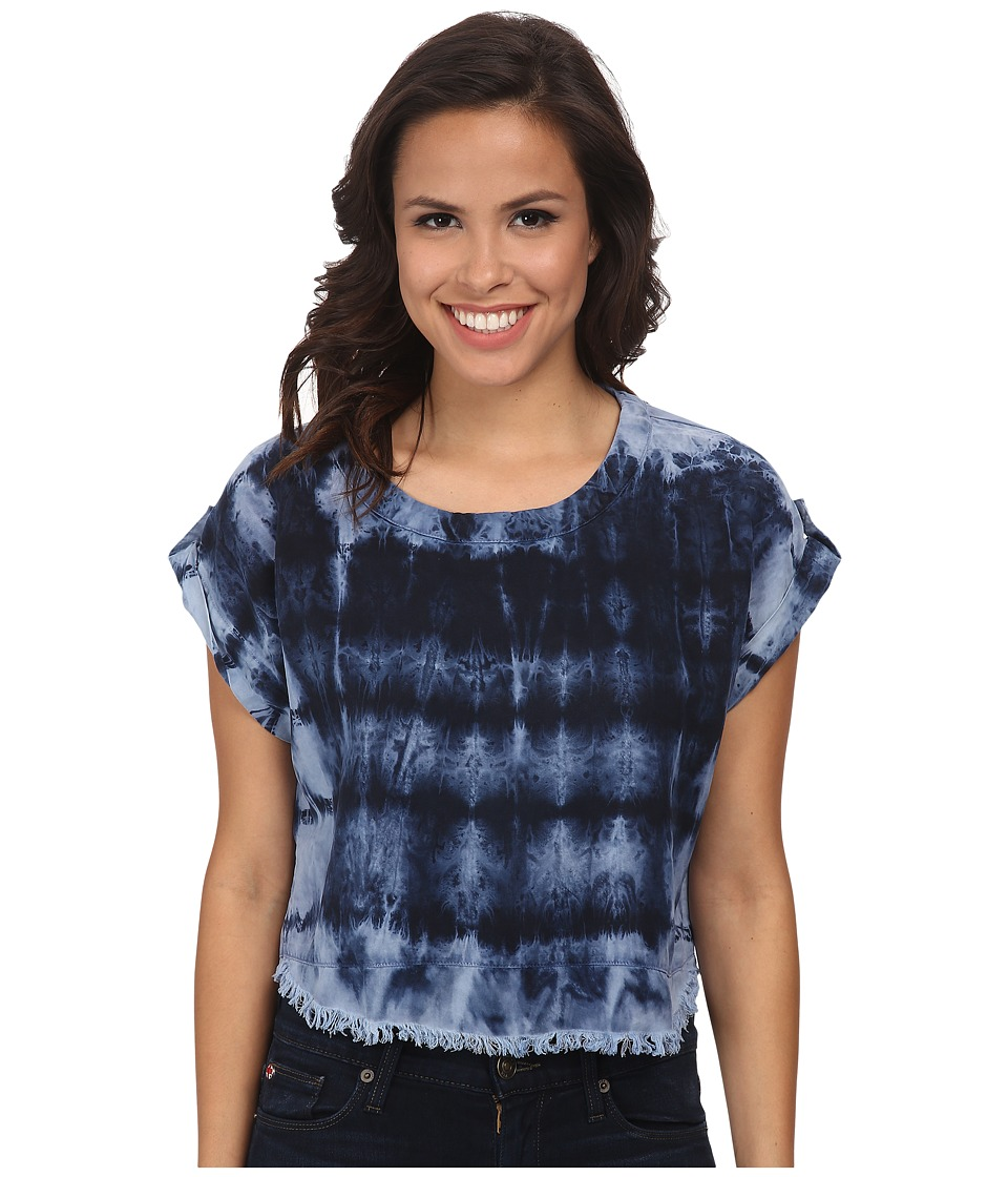 Young Fabulous & Broke - Tyler Top (Dark Navy) Women's Short Sleeve Pullover