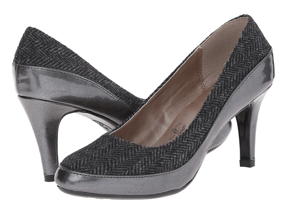 Soft Style - Cristina (Dark Grey) High Heels