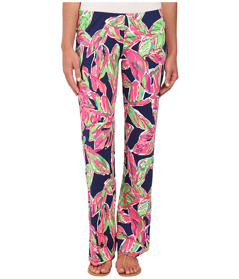 Lilly Pulitzer - Georgia May Palazzo (Bright Navy in the Vias) Women's Casual Pants