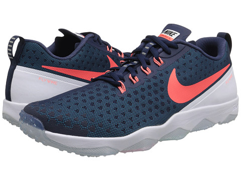 Nike - Zoom Hypercross TR2 (Midnight Navy/Blue Lagoon/White/Hyper Orange) Men's Cross Training Shoes