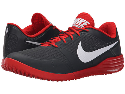 Nike - Lunar Ultimate TR (Anthracite/Challenge Red/Cool Grey/White) Men's Cross Training Shoes
