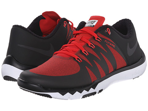 Nike - Free Trainer 5.0 V6 AMP (University Red/Black/FLT Silver/Black) Men's Cross Training Shoes