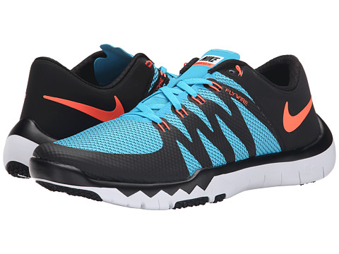 Nike - Free Trainer 5.0 V6 (Blue/Blue Lagoon/White/Hyper Orange) Men's Cross Training Shoes