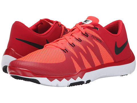 Nike - Free Trainer 5.0 V6 (Gym Red/Bright Crimson/White/Black) Men's Cross Training Shoes