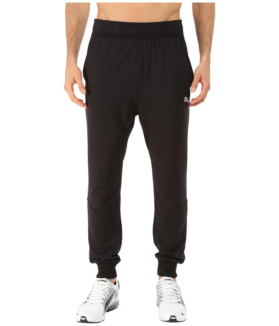 PUMA - Tapered Pants (Black) Men's Casual Pants