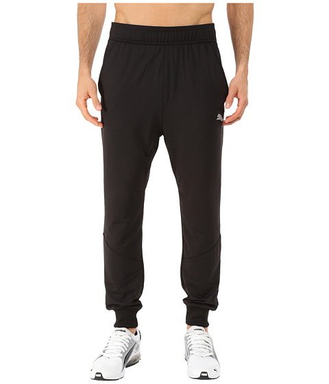 PUMA - Tapered Pants (Black) Men's Casual Pants