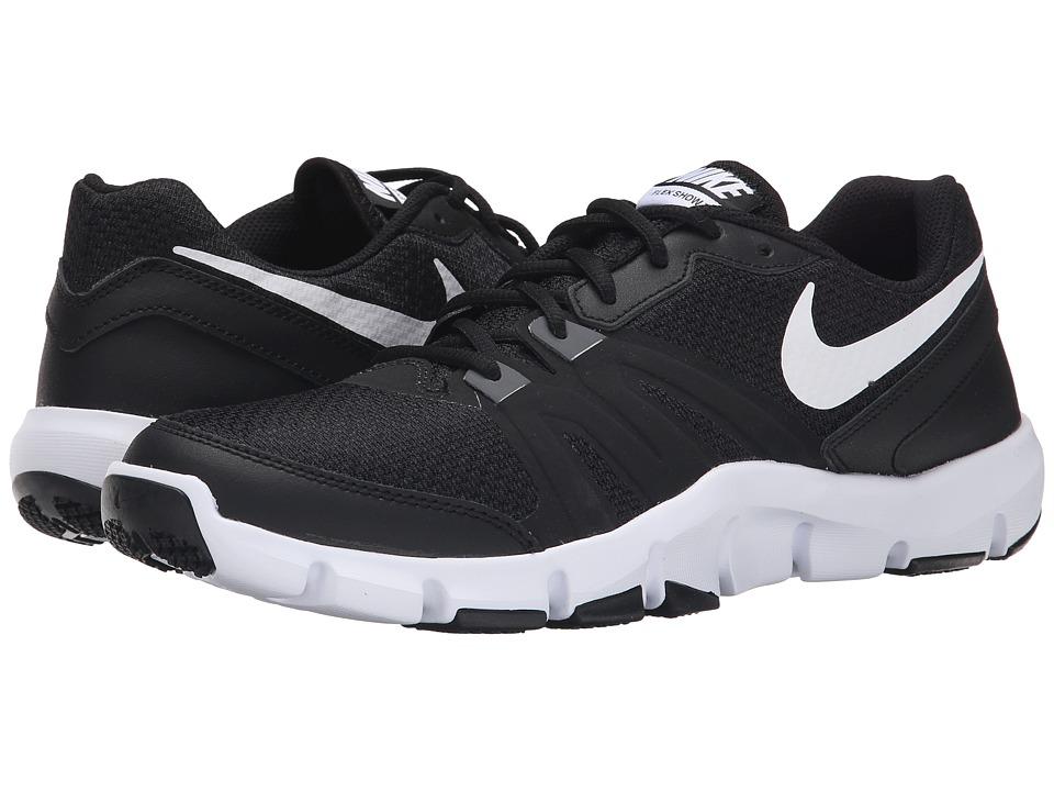 Nike - Flex Show TR 4 (Black/White) Men's Cross Training Shoes