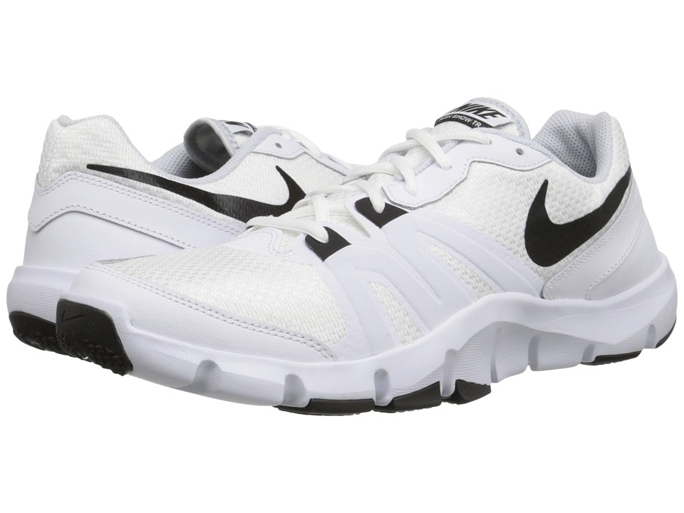 Nike - Flex Show TR 4 (White/Pure Platinum/Black) Men's Cross Training Shoes