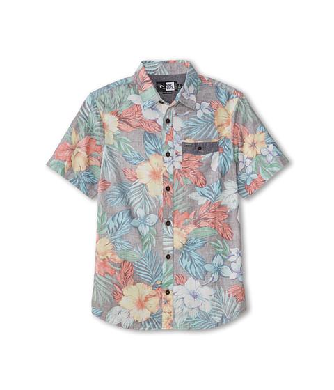Rip Curl Kids - Roscoe Short Sleeve Shirt (Big Kids) (Black) Boy