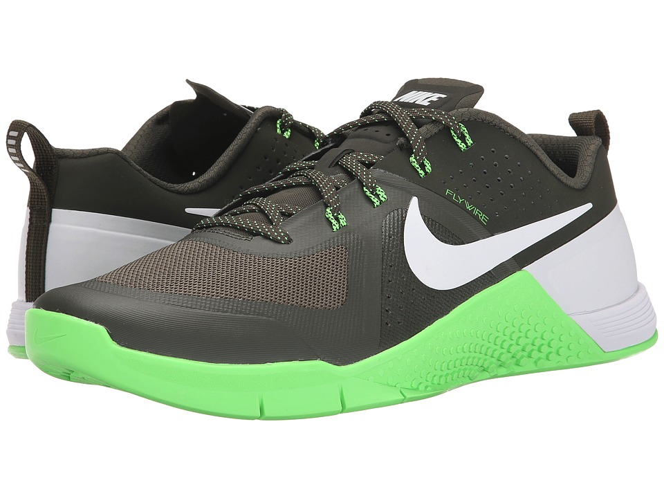 Nike - Metcon 1 (Cargo Khaki/Green Strike/White) Men's Cross Training Shoes