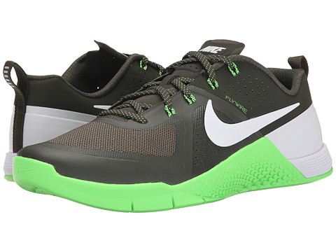 Nike - Metcon 1 (Cargo Khaki/Green Strike/White) Men's Cross Training Shoes