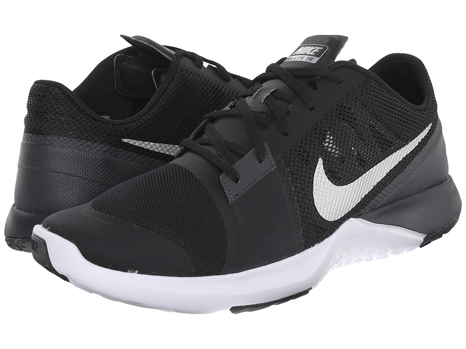 Nike - FS Lite Trainer 3 (Black/Anthracite/White/Metallic Silver) Men's Cross Training Shoes