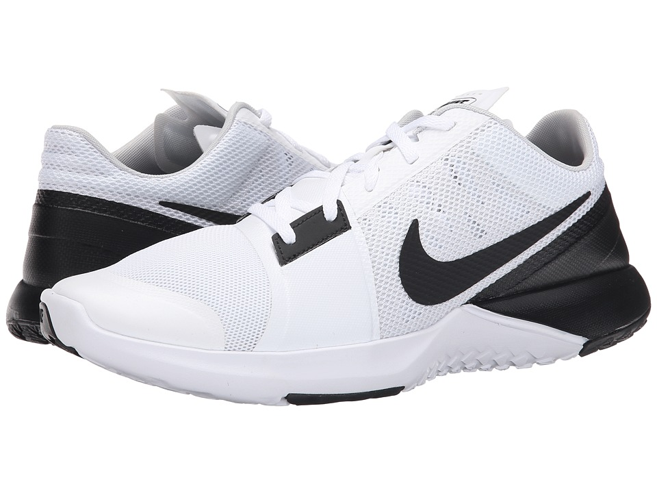 Nike - FS Lite Trainer 3 (White/Pure Platinum/Black) Men's Cross Training Shoes