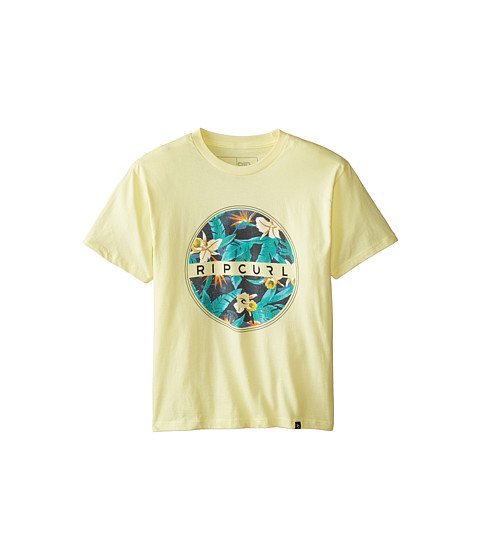 Rip Curl Kids - Salute Premium Tee (Big Kids) (Yellow) Boy's T Shirt