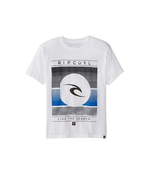 Rip Curl Kids - Tropical Medina Premium Tee (Big Kids) (White) Boy
