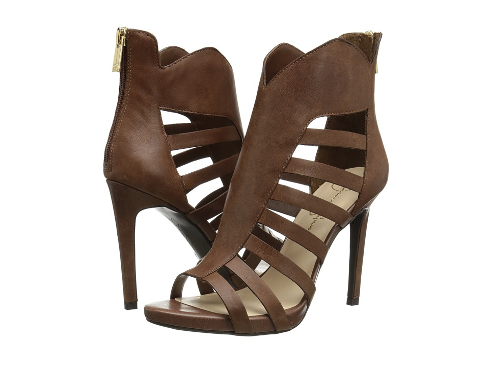 Jessica Simpson - Norlina (Bourbon Ruby Tumbled) High Heels