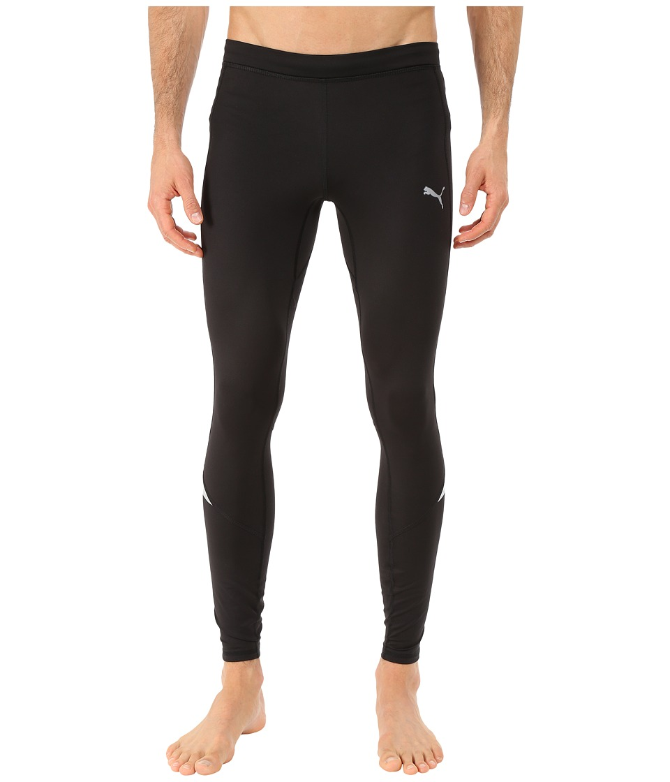 PUMA - Power Warm Long Tights (Black) Men's Workout