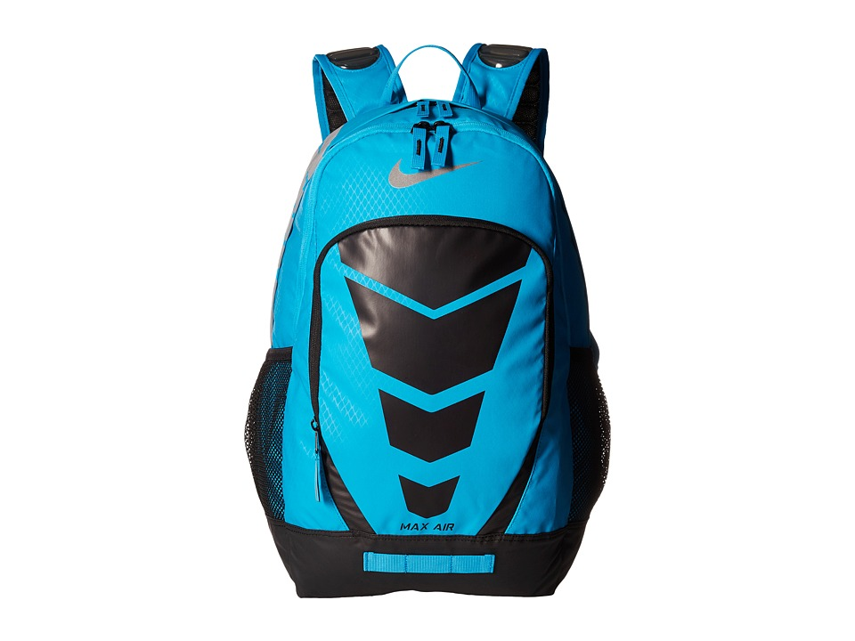 Nike - Max Air Vapor Backpack (Blue Lagoon/Black/Metallic Silver) Backpack Bags