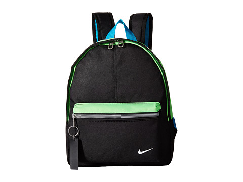Nike - Young Athletes Classic Base Backpack (Black/Green Strike/White) Backpack Bags