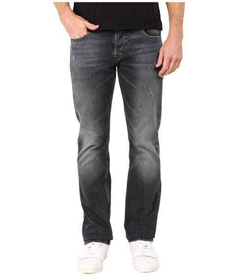 Hudson - Byron Five-Pocket Straight Jeans in Blacksmith (Blacksmith) Men