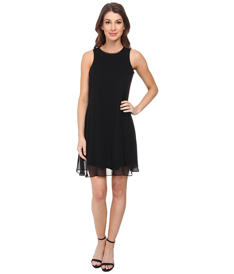 Calvin Klein - A-Line Dress (Black) Women's Dress