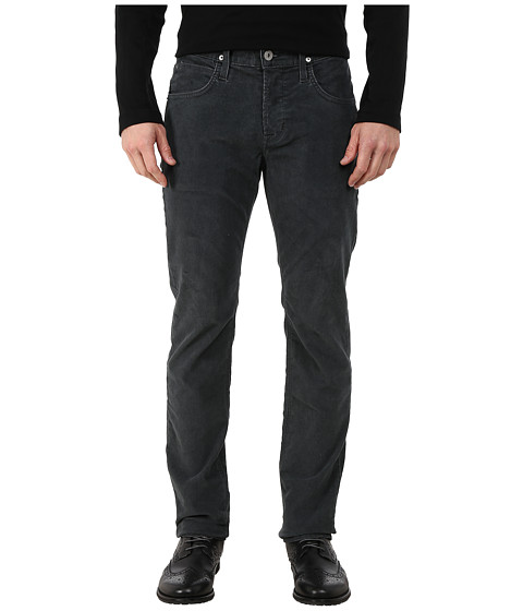 Hudson - Blake Slim Straight Jeans in Tarnished Steel (Tarnished Steel) Men