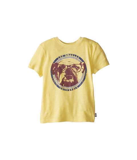 Splendid Littles - Graphic Short Sleeve Tee (Toddler) (Yellow) Boy