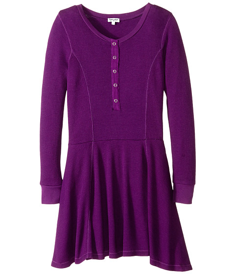 Splendid Littles - Fashion Knit Dress (Big Kids) (Violet) Girl