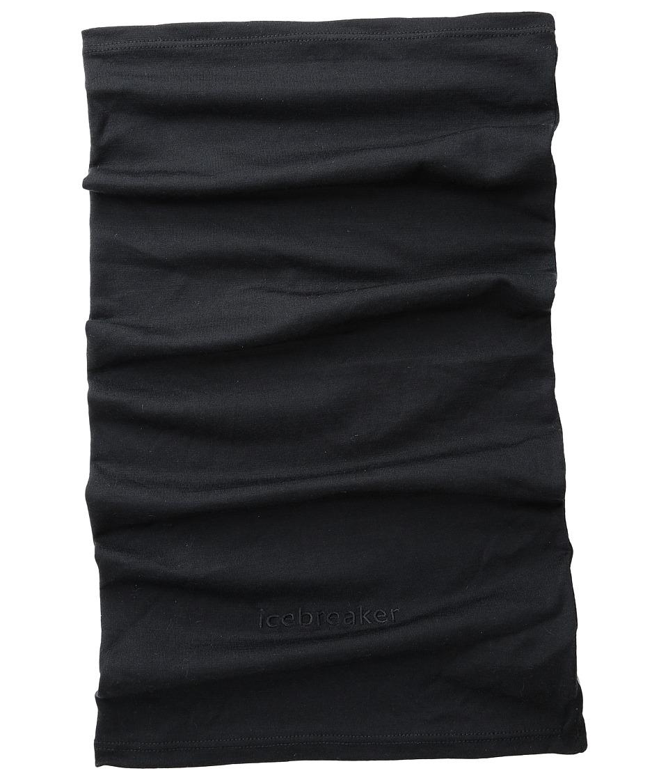 Icebreaker - Flexi Chute (Black) Scarves