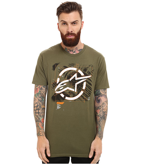 Alpinestars - Framework Tee (Military Green) Men's T Shirt