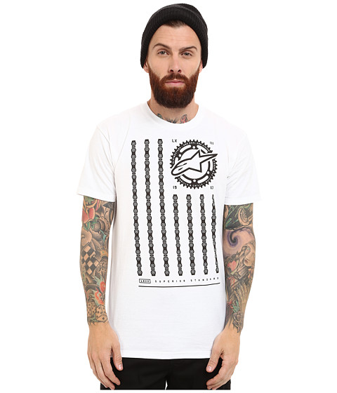 Alpinestars - Unchained Tee (White) Men