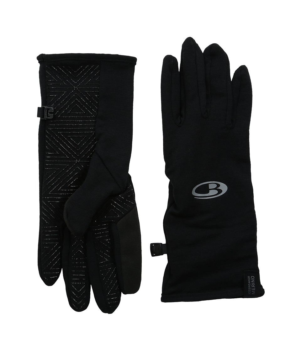 Icebreaker - Quantum Gloves (Black) Dress Gloves