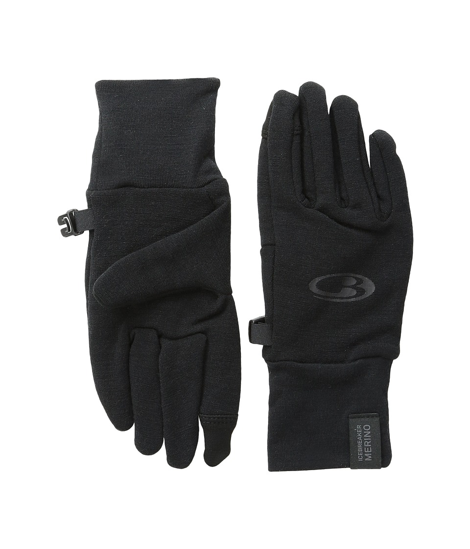 Icebreaker - Sierra Gloves (Black) Dress Gloves
